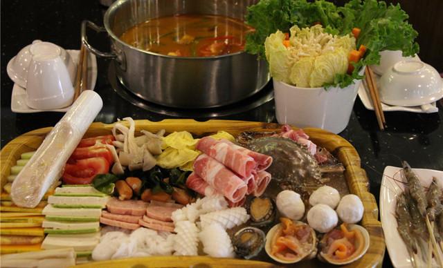 中式海鲜火锅做法
