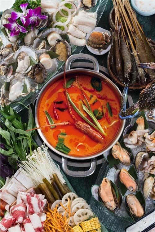 泰式海鲜火锅